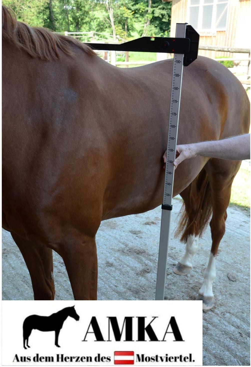 Light 750g Stockmaß for Horses//Measuring Stick Aluminium 180cm//maßhöhe 100-180 cm