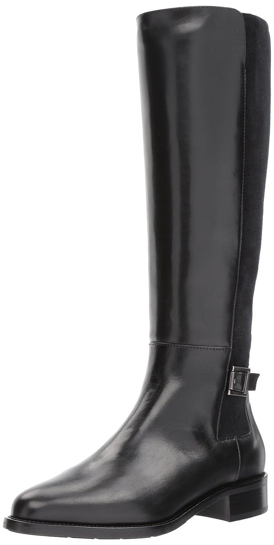 Aquatalia Women's Noella Calf Knee High Boot B06XP49ZZ1 9.5 B(M) US|Black