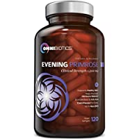Organic Evening Primrose Oil | Clinical Strength 1,500 mg | 10% GLA | Cold-Pressed...