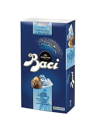 Baci Perugina Leche Chocolate de Leche Rellenos al Orbiter Gianduia y Avellana 200 g [unidades