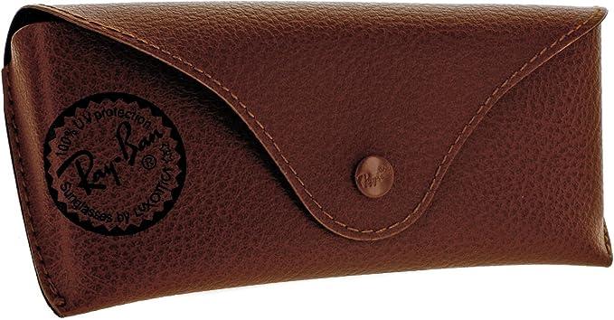 Ray-Ban - Caso de gafas - marrón: Amazon.es: Ropa y accesorios