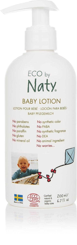 ECO by Naty Organic Baby Body Lotion, 6.7 Fl. Ounce NAUJA 07330933252591