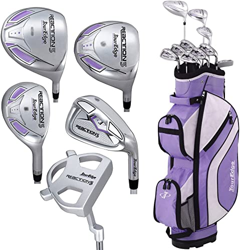 Tour Edge Women's Reaction 3 14-Piece Complete Golf Set