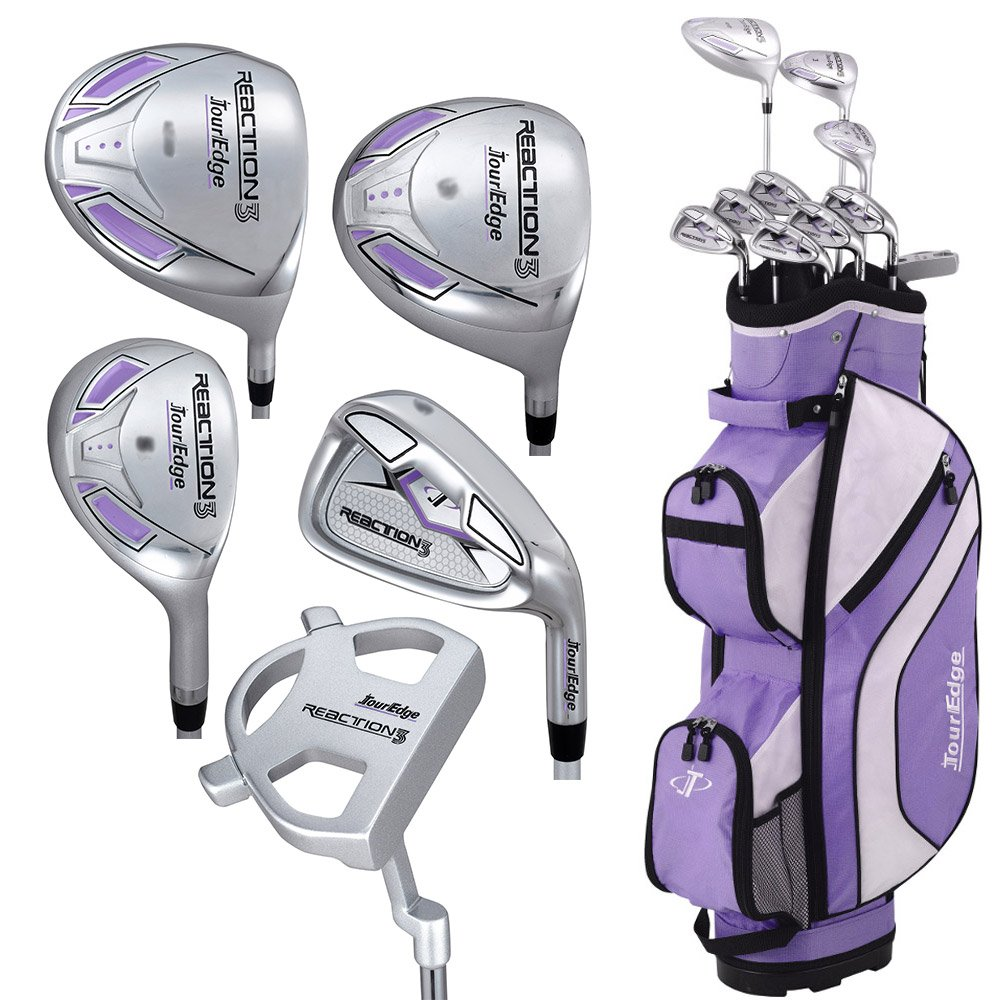 Tour Edge Women s Reaction 3 14-Piece Complete Golf Set