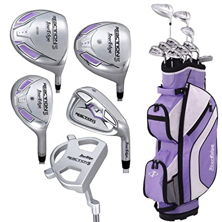 Tour Edge Women s Reaction 3 14-Piece Complete Golf Set