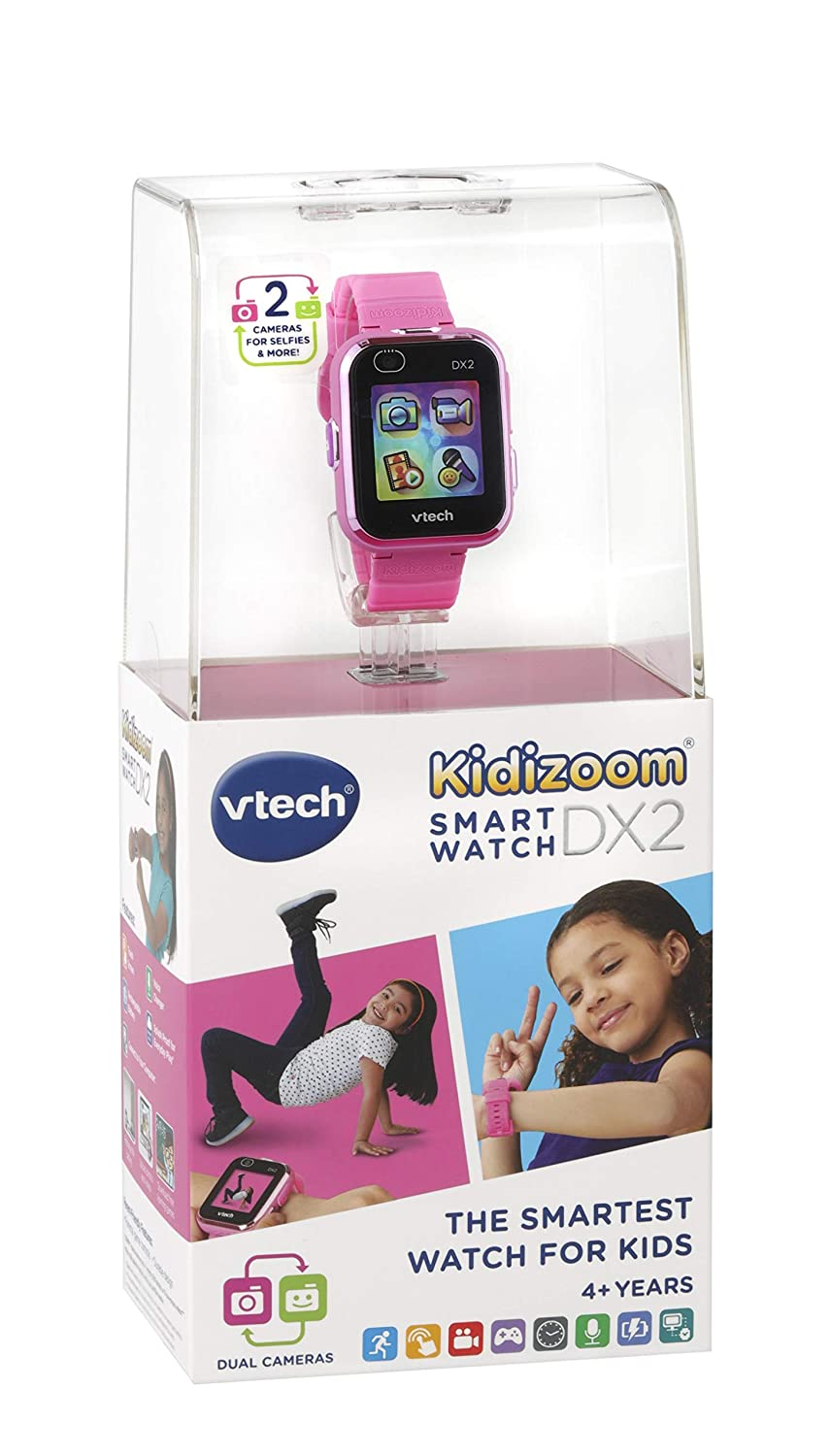 Amazon.com: VTech Kidizoom Smart Watch DX2 with Dual Camera ...