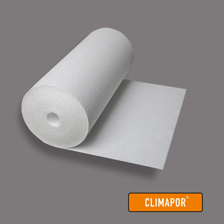 7,5 x 0,5 m x ~ 4 mm Isoliertapete Innenraum-D/ämmung = 7,5 qm 2 Rollen EPS CLIMAPOR wei/ße D/ämmtapete rauhfaserkaschiert