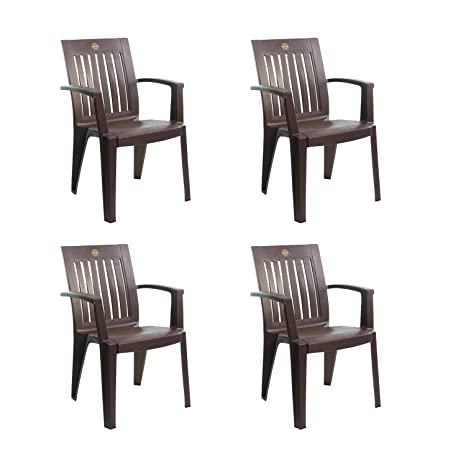Surprising Cello Prominent Set Of 4 Chairs Ice Brown Amazon In Home Cjindustries Chair Design For Home Cjindustriesco