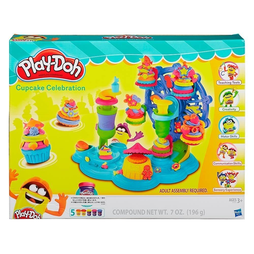 【福袋セール】 Play-Doh Cupcake B016DGIX0S Cupcake Play-Doh Celebration Playset [並行輸入品] B016DGIX0S, 撮影機材専門店 PHOTO TOOLS:a449bf35 --- pmod.ru