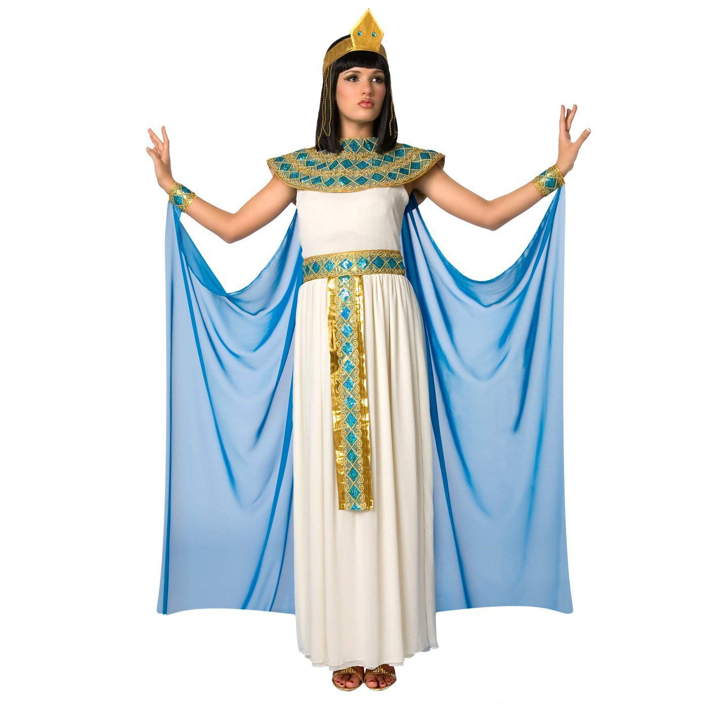 Costume di Cleopatra, la Regina egiziana del Nilo Carnevale - Medio