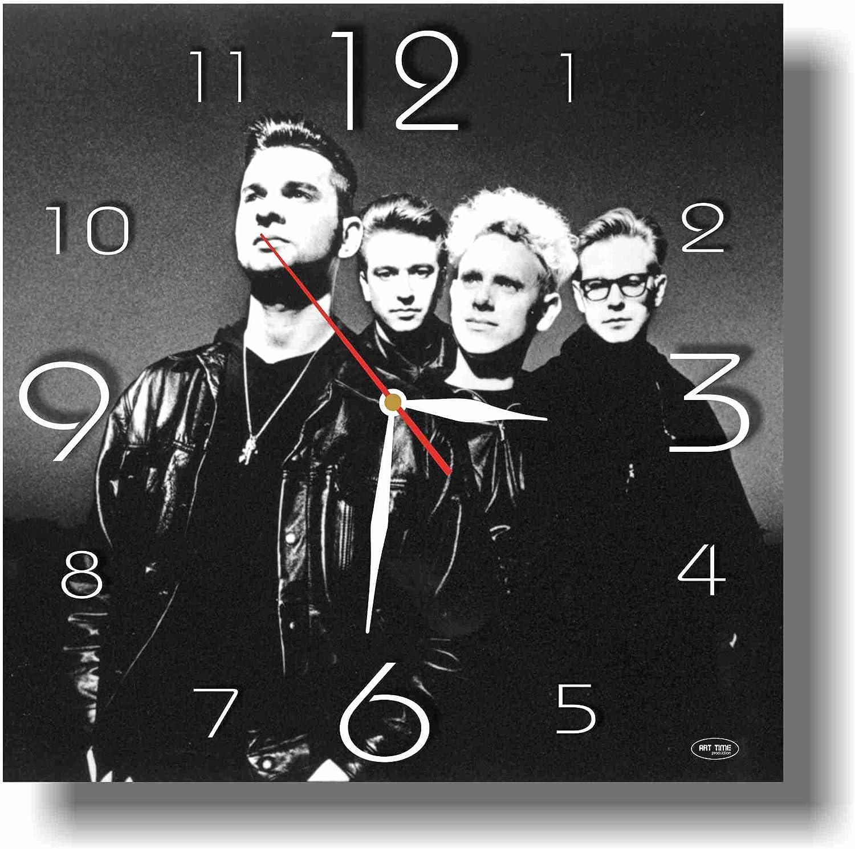 Depeche mode Vinyl clock wall clock handmade wall art Depeche Mode uhr Birthday gift Depeche Mode art home decor Classic rock Music 80
