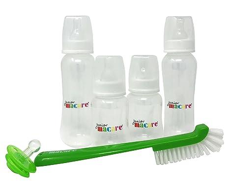Junior Macare 6 piezas botella de bebé recién nacido Starter Set ...