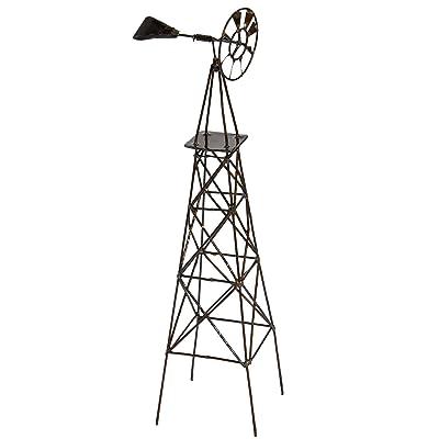 Jeremie Corporation Vertical Windmill for Miniature Garden, Fairy Garden: Home & Kitchen