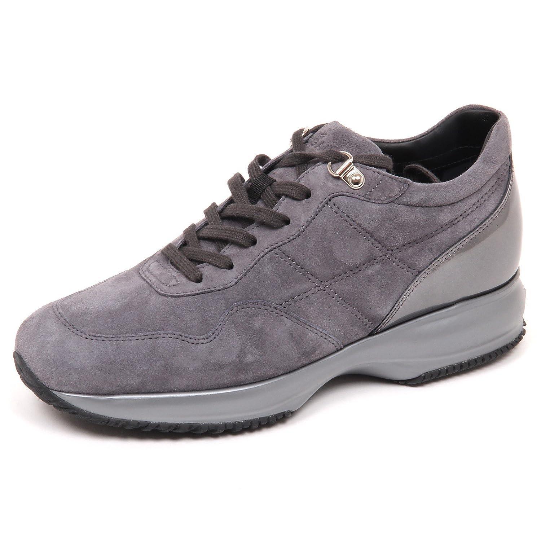 E4528 sneaker donna grey HOGAN shoe INTERACTIVE scarpe H cucitura shoe HOGAN woman c0254d