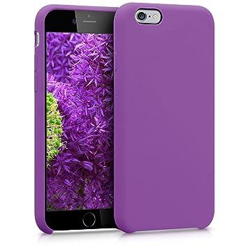 kwmobile Funda compatible con Apple iPhone 6 / 6S - Carcasa de [TPU] para móvil - Cover [trasero] en [púrpura pastel]