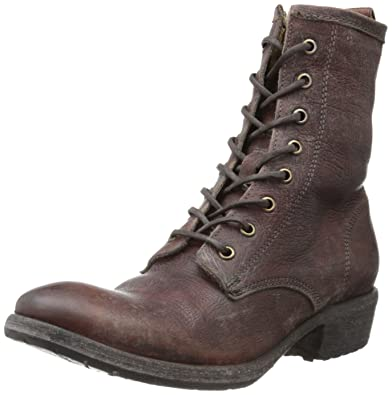 Amazon.com | FRYE Women's Carson Lug Lace-Up Ankle Boot | Ankle ...