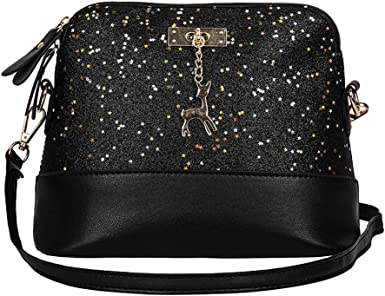 New women/'s Fashion Handbag Shoulder Bag PU leather zipper messenger bag