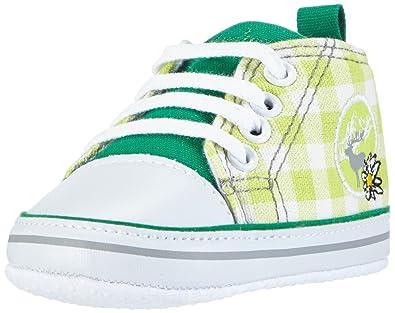 classic fit 4c4ad 77f93 Playshoes Baby Canvas-Turnschuhe, trendiger Stoff-Sneaker mit  rutschhemmenden Noppen, mit Landhaus-Motiv