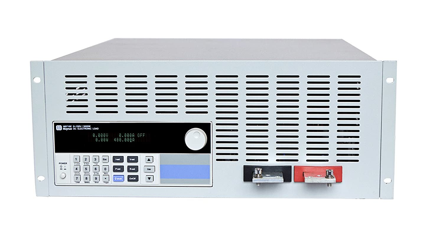 Maynuo M9716 Programmable Dc Electronic Load 2400w 0 240a 150v Figure 5 Circuit Constant Resistancecr Operation Multi Testers Industrial Scientific