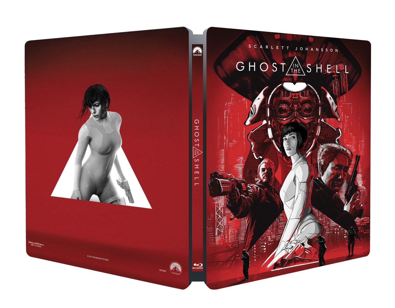 Ghost in the Shell (Steelbook) (Blu-Ray) [Italia] [Blu-ray]
