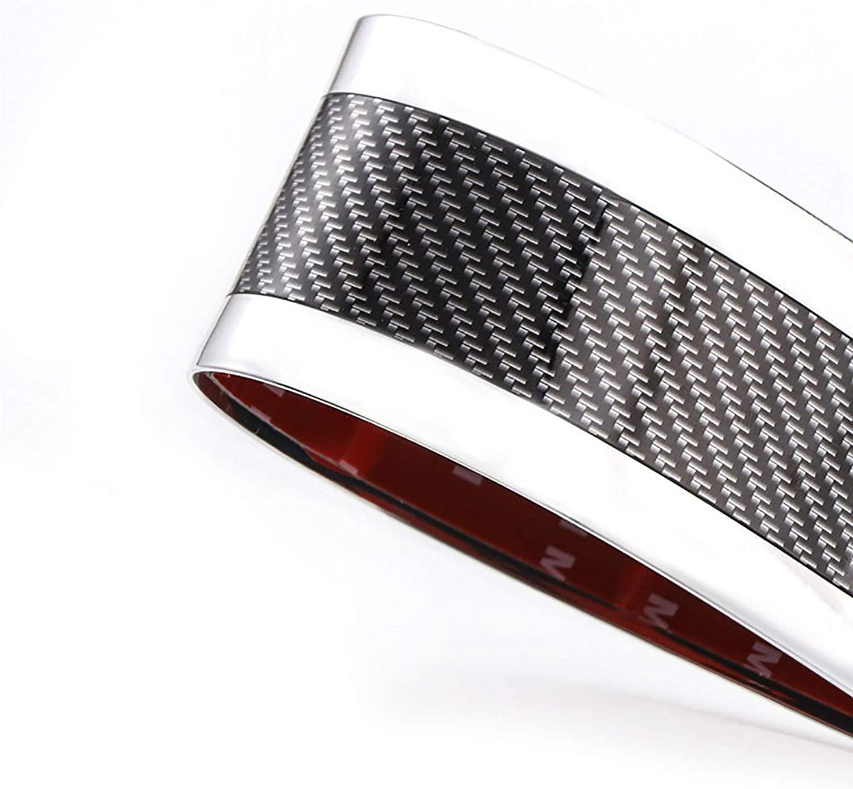 Puerta del coche del protector del travesa/ño Carbon protector de puerta de coche de fibra de parachoques Protecci/ón del ajuste de la cubierta placa del desgaste etiqueta resistente a los ara/ñazos,5m