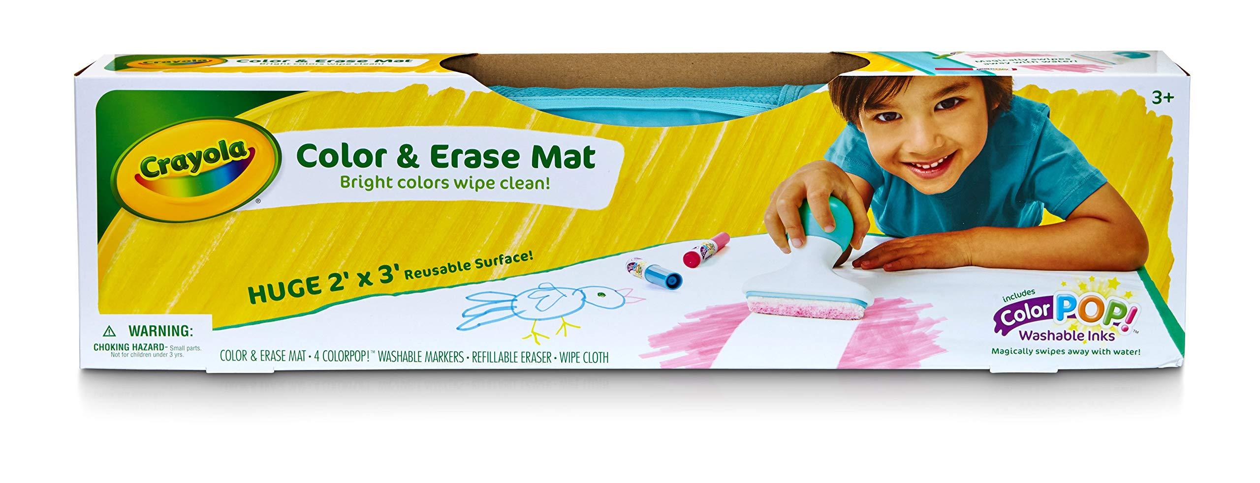 Crayola Color & Erase Mat, Travel Coloring