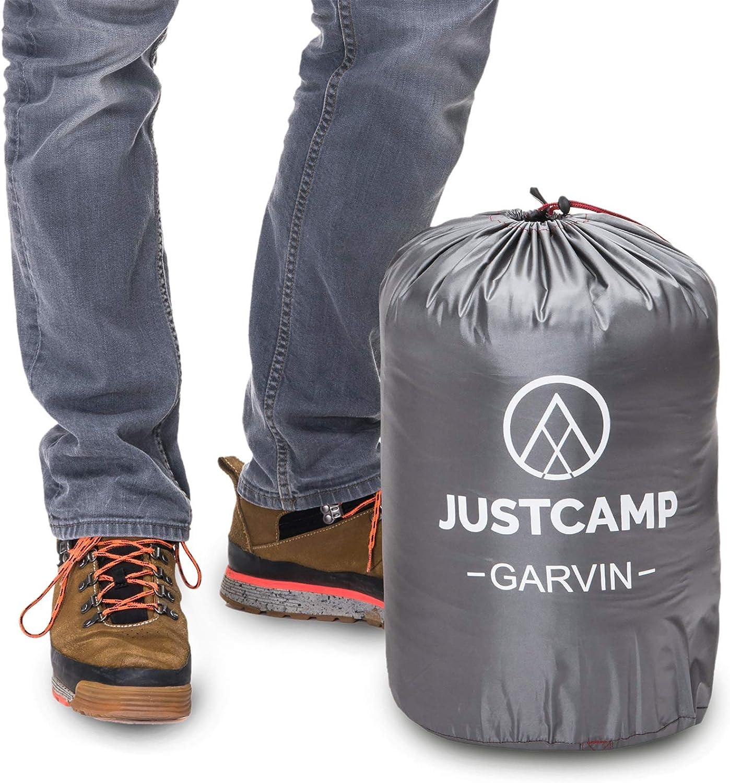 JUSTCAMP Garvin 3-Season Sleeping Bag Mummy