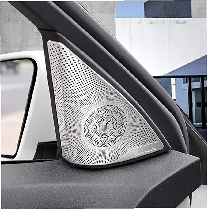 Car Styling Türlautsprecher Ein Audio Lautsprecher Abdeckungs Ordnungs Aufkleber Zubehör Teile Für C Klasse W204 C180 C200 Küche Haushalt