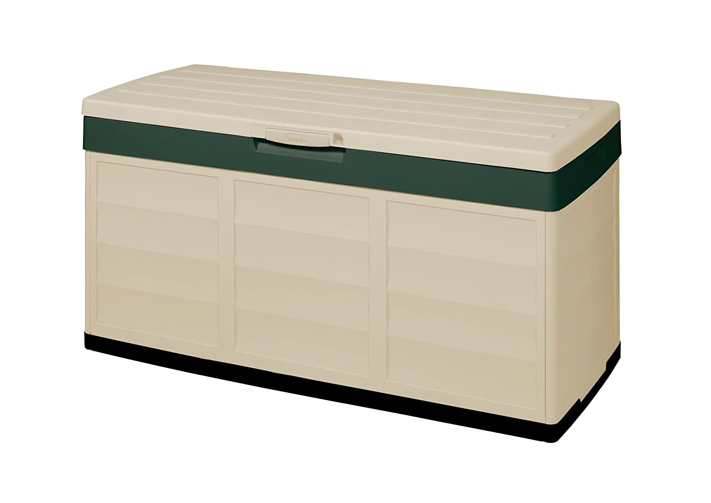 Keter 12PACK N GO Aufbewahrungsbox, beige, 118,5 x 53 x 59 cm