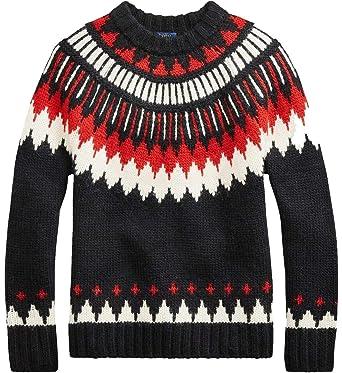 Polo Ralph Lauren Mujer Mod. 211717897 Negro/Rojo/Blanco XS ...