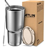 Atlin Sports Double Wall Stainless Steel Vacuum Insulation Tumbler (30oz)