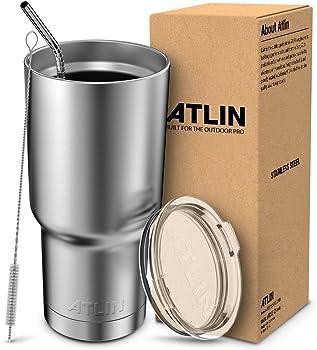 Atlin Sports Double Wall Vacuum Insulation Tumbler