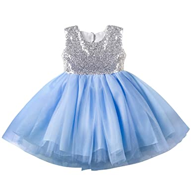 edf0293e0f Amazon.com: EsTong Baby Girls Toddler Sequins Tutu Princess Wedding ...