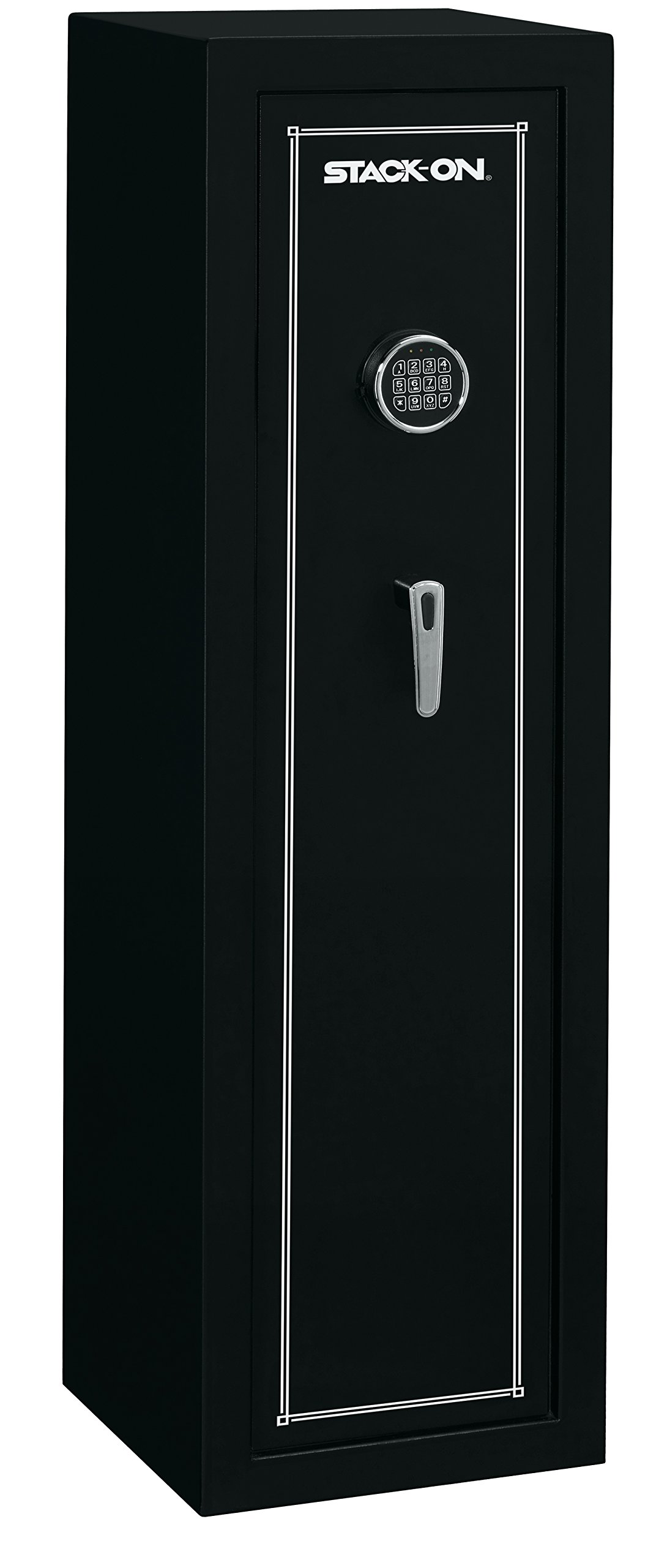 Stack-On SS-10-MB-E 10 Gun Fully Convertible Security Safe with Electronic Lock, Matte Black by Stack-On