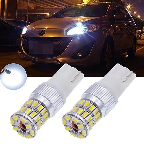 Bombillas LED blancas TUINCYN para coche de 450 lúmenes 36SMD para intermitentes, luces de marcha