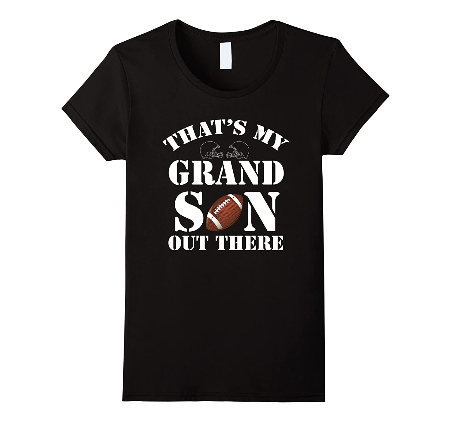 Grandparents T-Shirt, That's My GRANDSON Out There Football