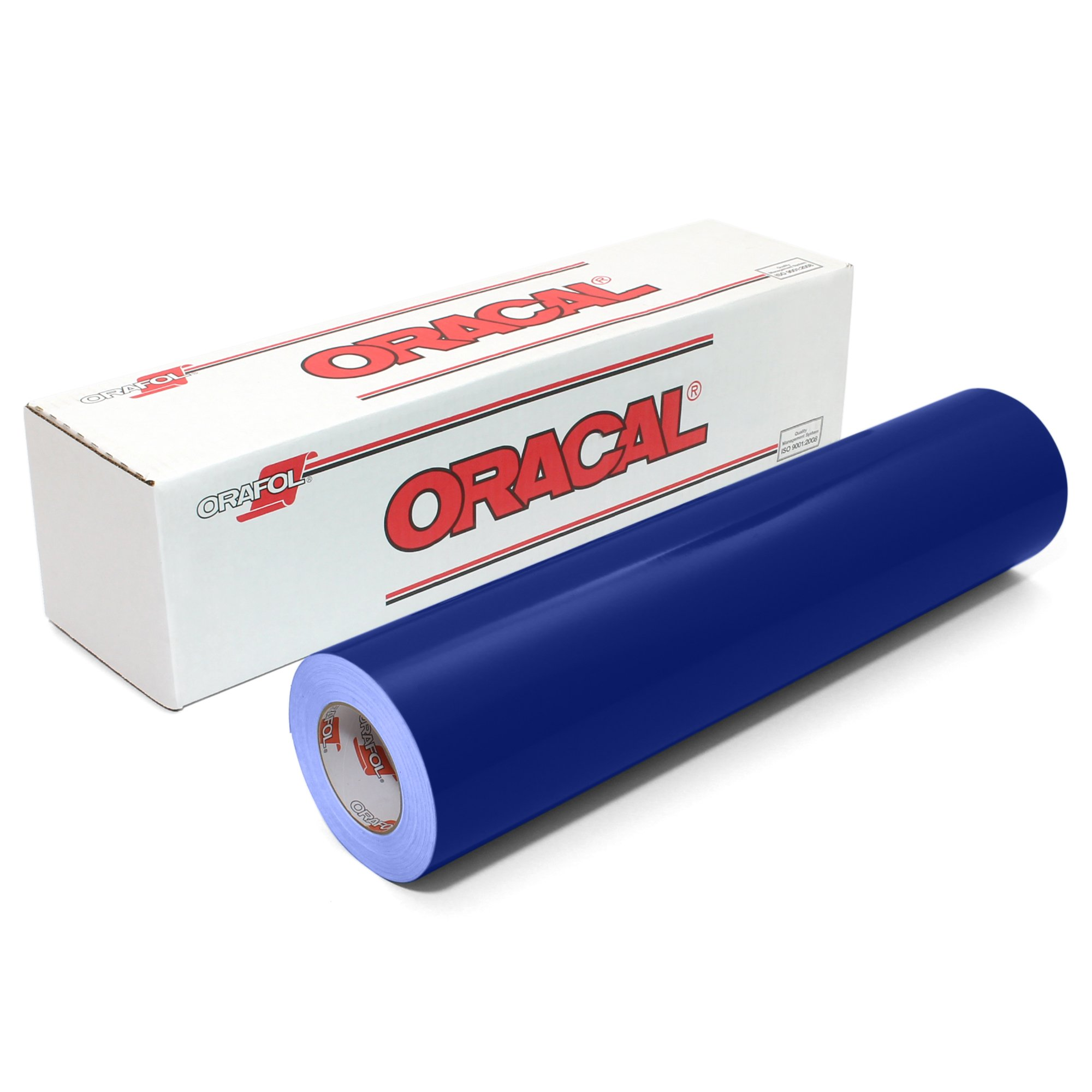Oracal 651 Glossy Vinyl Roll 24 Inches by 150 Feet - Cobalt Blue