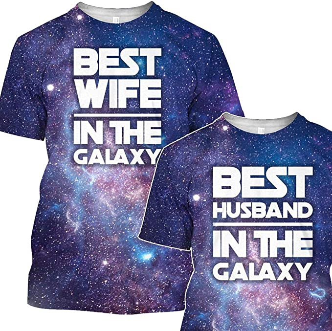 Best Girlfriend in The Galaxy 3D All Over Sublimation Printing Shirt