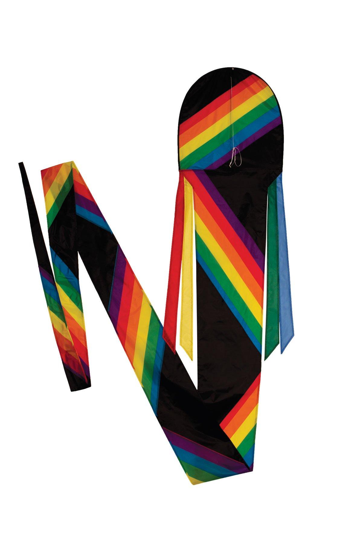 In the Breeze Rainbow Stripe Dragon Kite