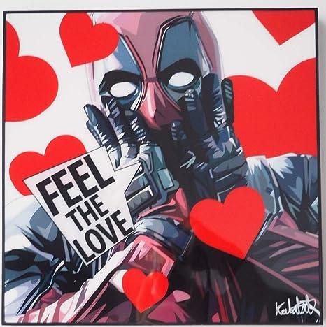 Glagoods Deadpool Marvel Super Hero Movie Cartoon Pop Art