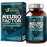 Vitamin Bounty - Neuro Factor - Memory, Focus & Clarity - Caffeine Free & All Natural (30)