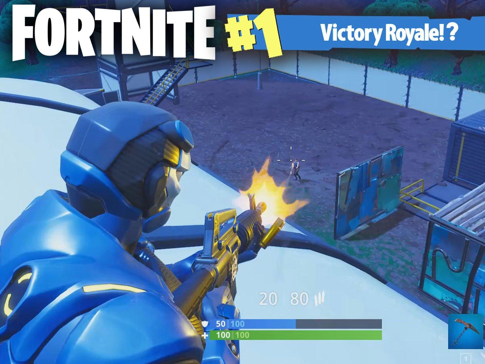 Watch Clip Fortnite Season 4 Gameplay Prime Video