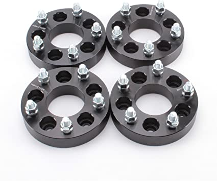 """2 5x4.5 to 5x5 1.25 inch Wheel Spacers 1//2/"""" For Jeep Cherokee Liberty Wrangler"""
