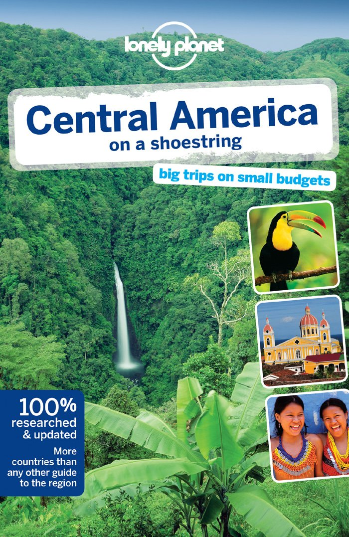 Lonely Planet Central America shoestring