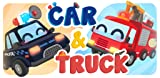 Cars Bus and Trucks Vehicles - Junior Kids Learning Game