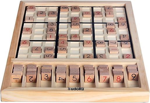 Madera Sudoku Juegos de mesa SD-01: Amazon.es: Juguetes y ...