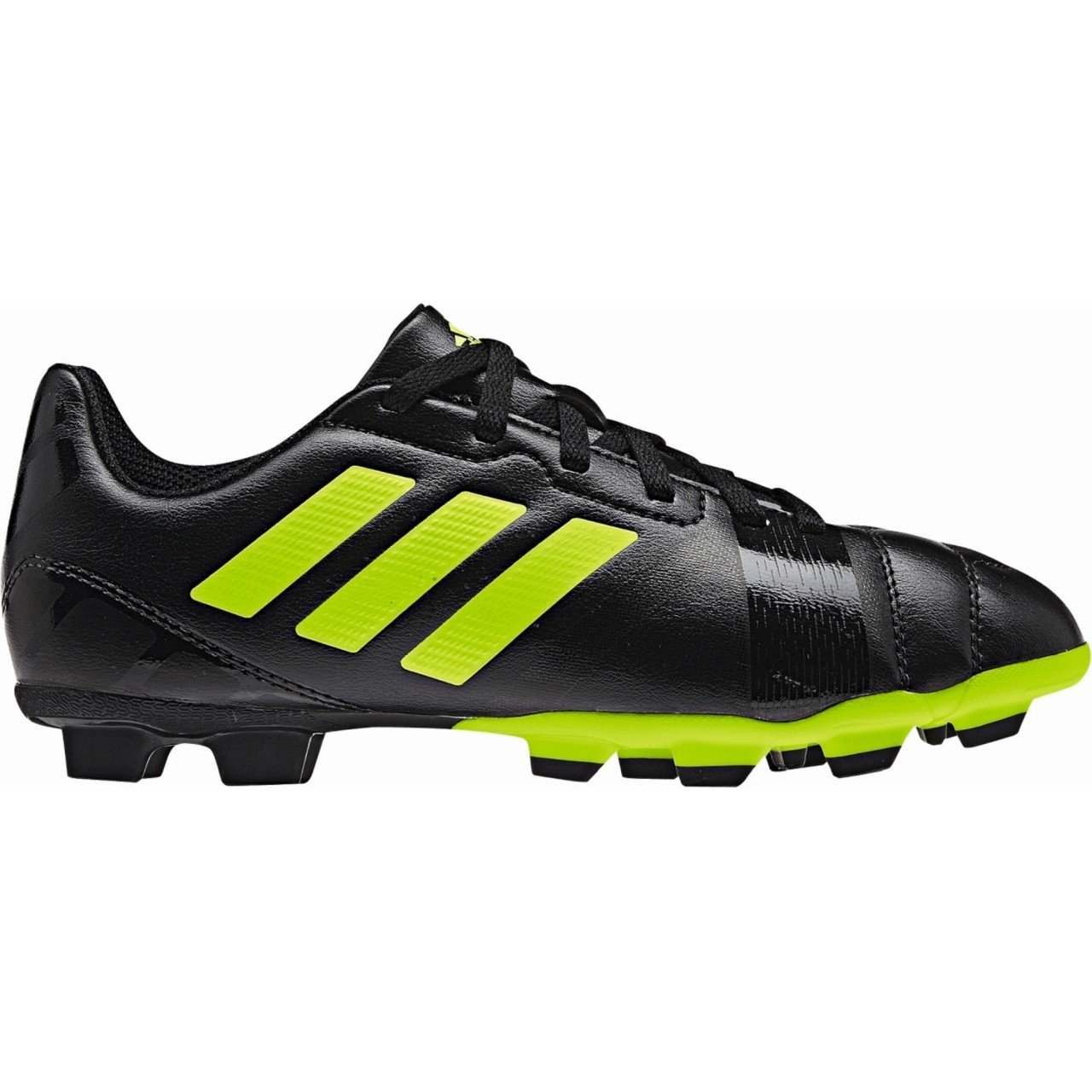 online store 3d8b3 e8cbb Nitrocharge 3.0 TRX FG Kids Football Boots Black Solar Slime  Amazon.co.uk   Sports   Outdoors