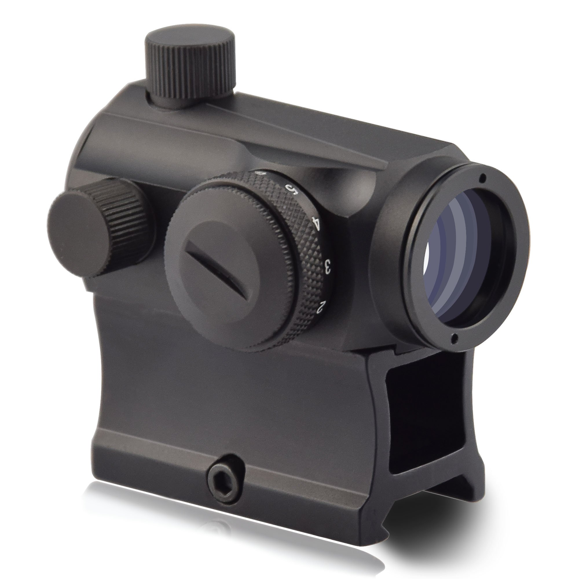 OTW Red Dot Sight,1x20mm 4 MOA Red Green Dot Sight Micro Rifle Scope by OTW