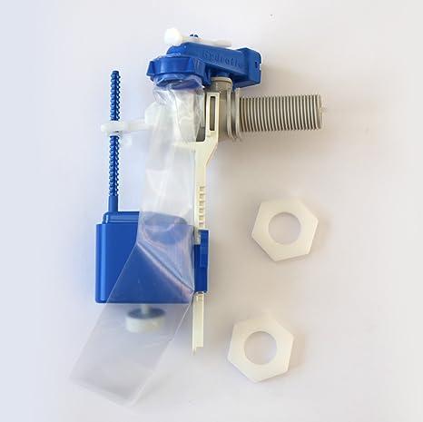 Thomas Dudley 313079 - Válvula de entrada de agua lateral para cisterna, 15 mm,