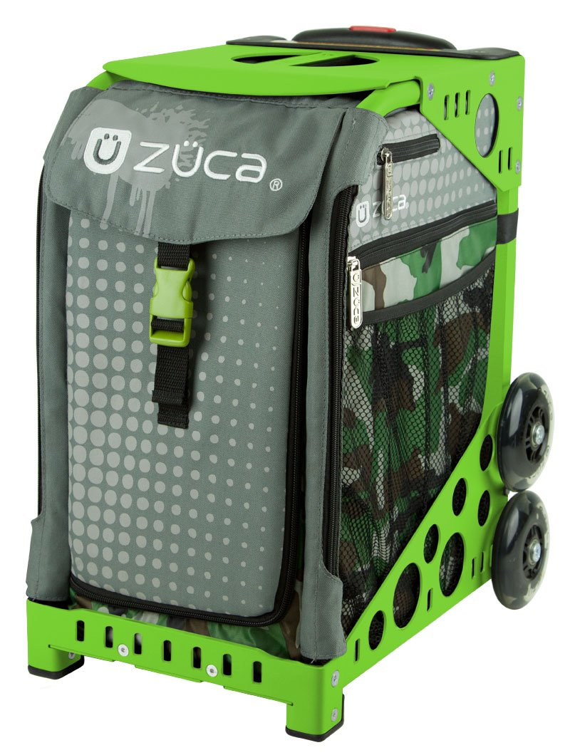 Amazon.com : ZUCA Bag Paintball Insert & Black Frame w/ Flashing Wheels : Sports & Outdoors